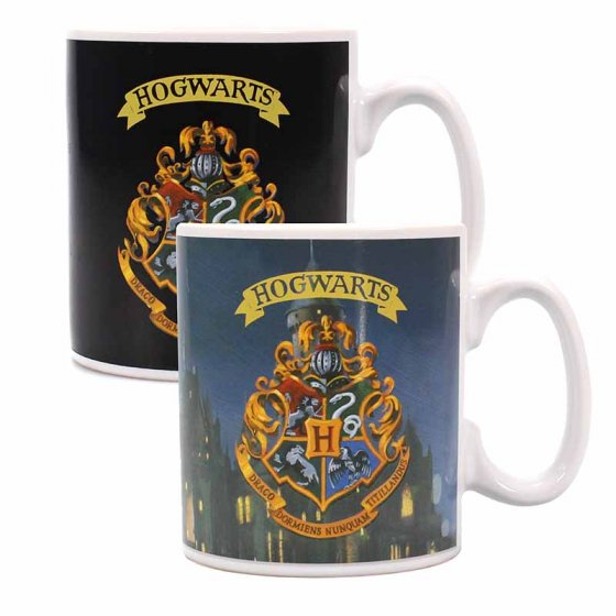 Hogwarts Heat Changing Mug - Harry Potter