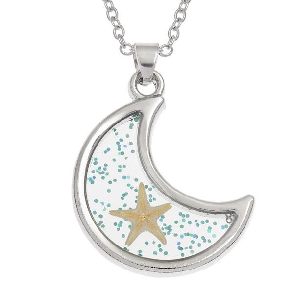 Starfish Moon Necklace