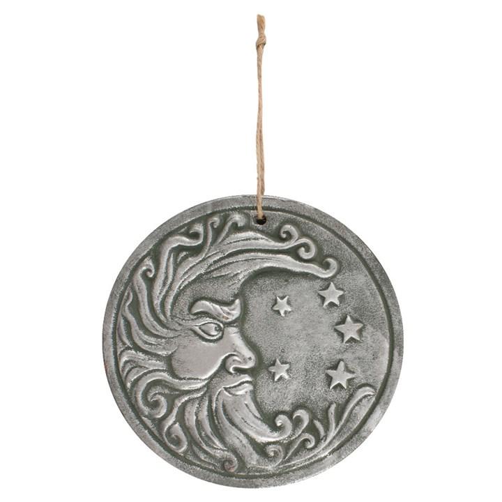 Silver Moon Plaque