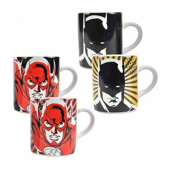 Justice League Batman & Flash Mini Mug Heat Change