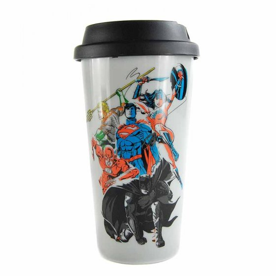 Justice League Travel Mug (450ml) - DC Comics