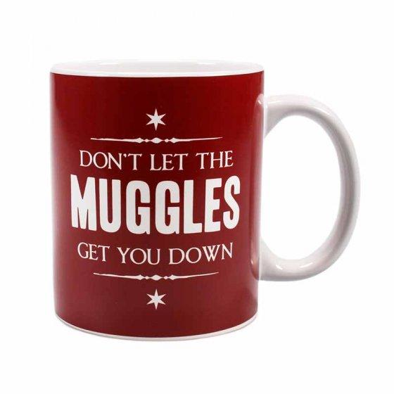 """Don't Let the Muggles Get You Down"" - Harry Potter Mug"