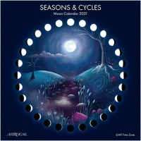 Seasons & Cycles Moon Calendar 2021 25x25cm