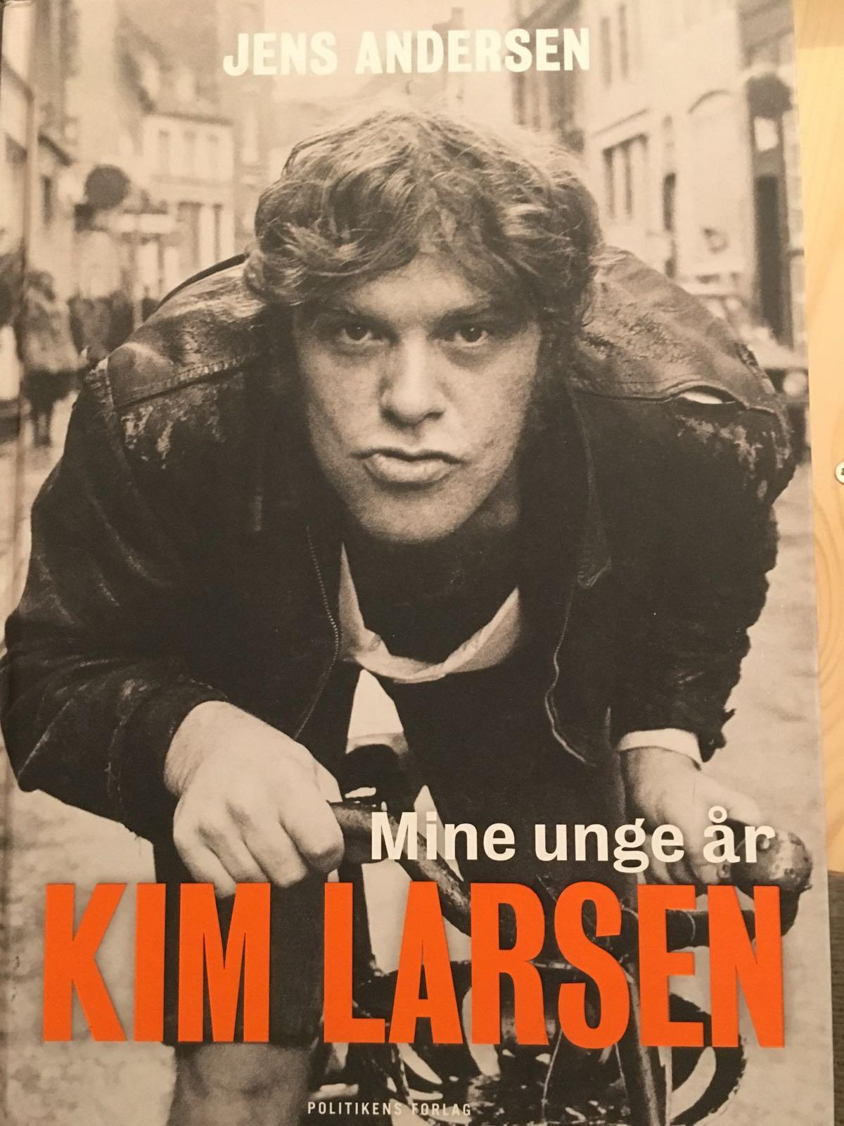 Kim Larsen - mine unge år af Jens Andersen -  9788740049435