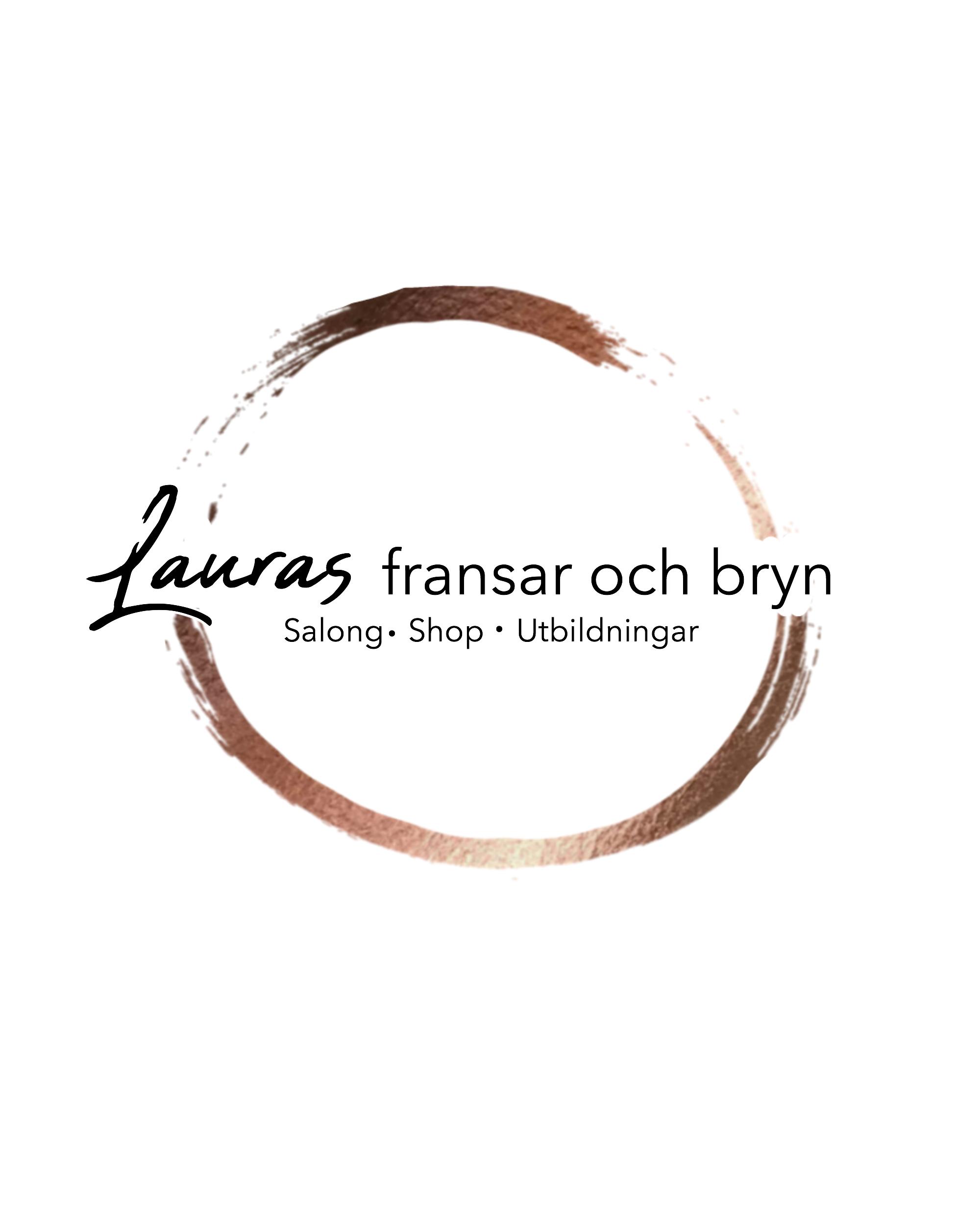 Lauras fransar & bryn