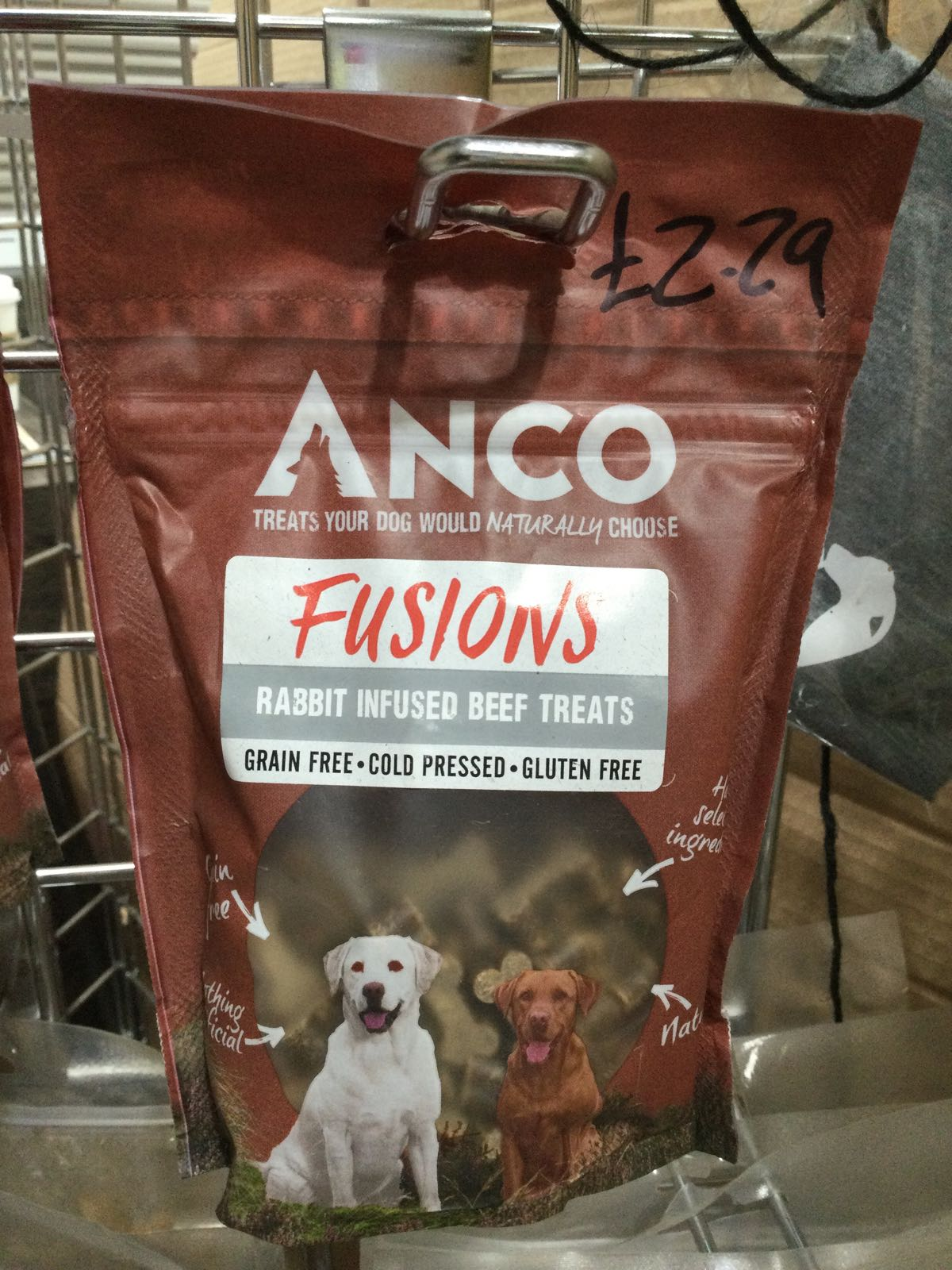 Anco Fusions- Rabbit Infused beef treats