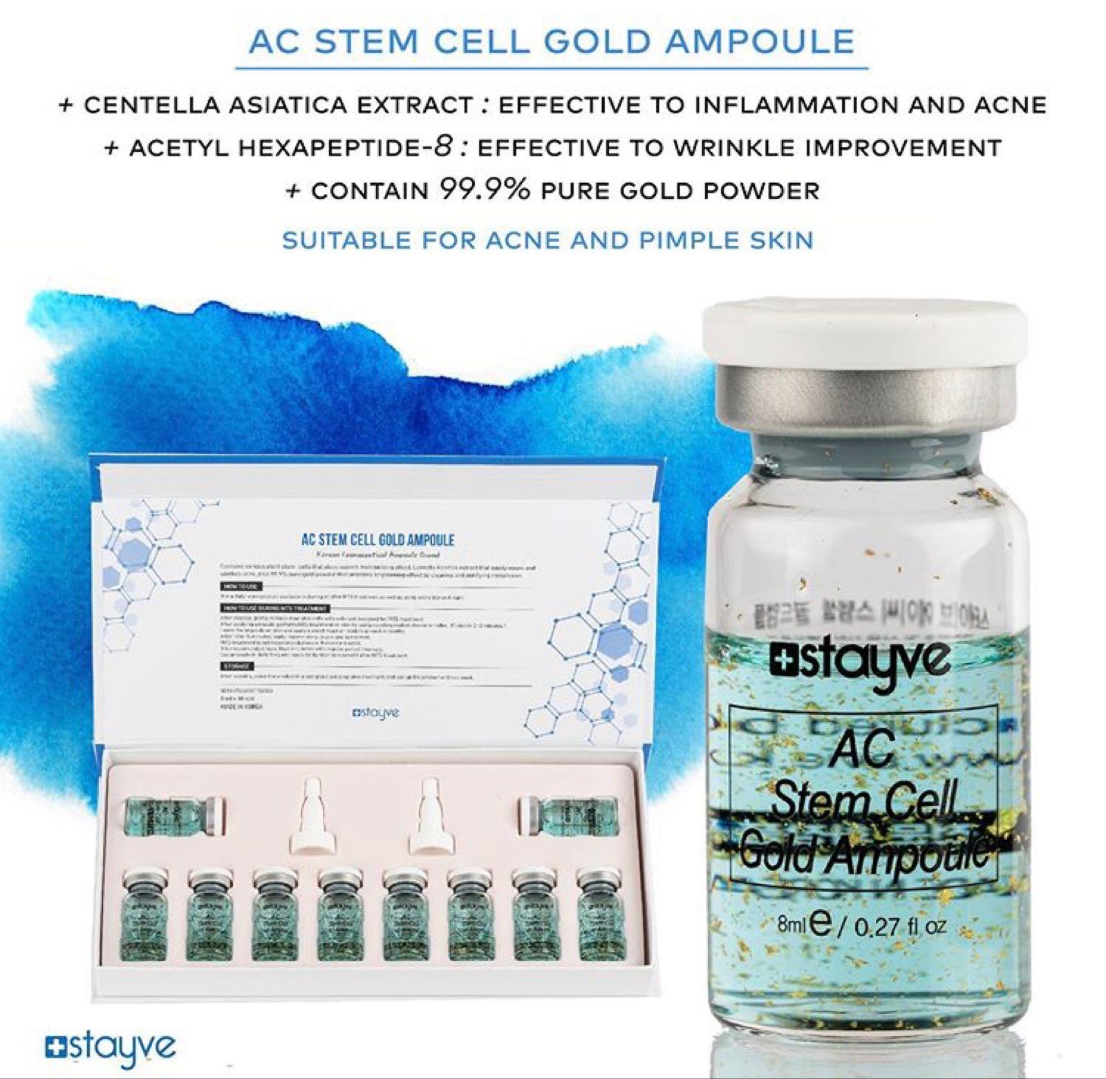AC Stem Cell Gold Ampull STYCKVIS