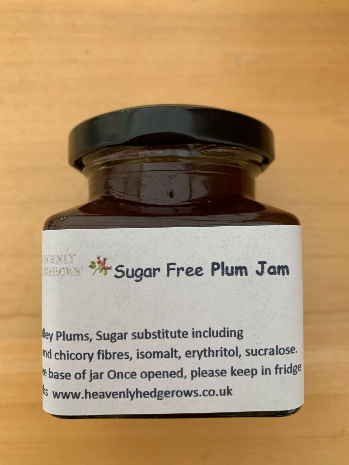 Sugar Free Plum Jam (100g)