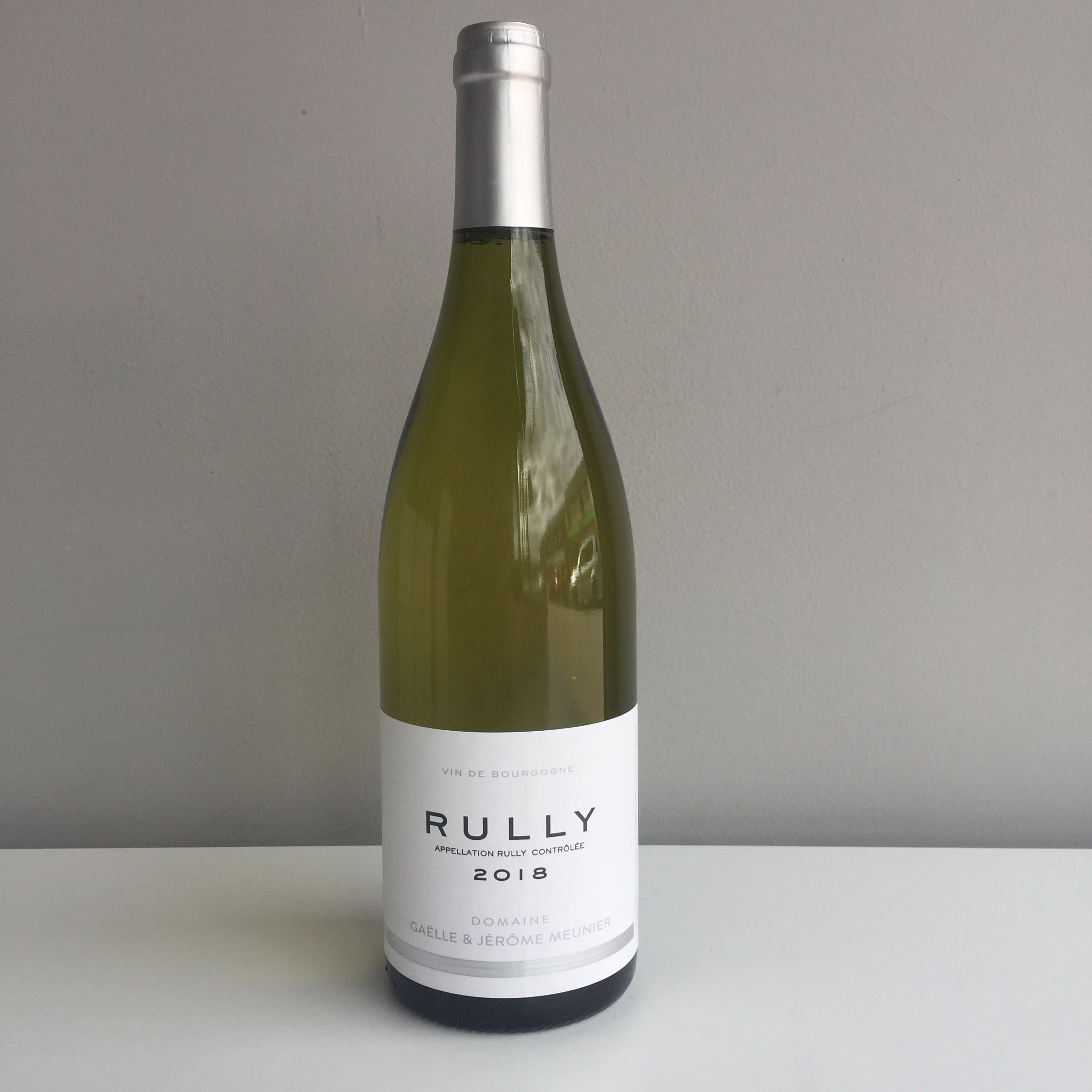 Rully Blanc 2018 - Domaine Gaëlle & Jerome Meunier