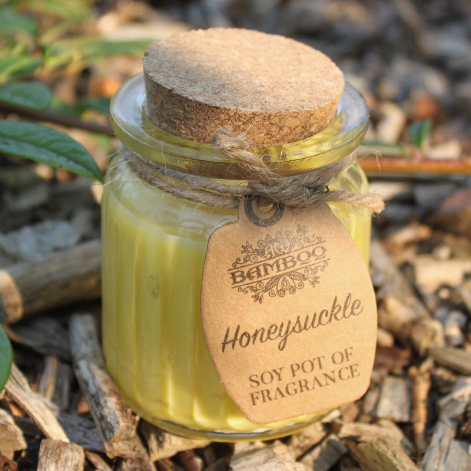 'Honeysuckle' Soy Pot Candle (Was £3.50)