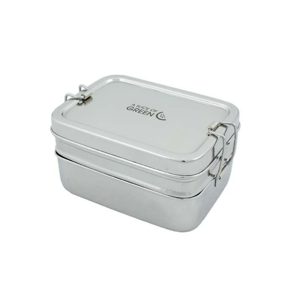 Two Tier Lunch Box with Mini Container