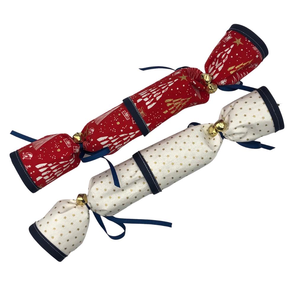 Reusable Fabric Christmas Crackers