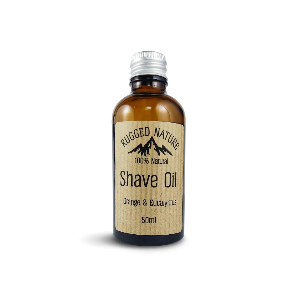 Orange & Eucalyptus Shave Oil