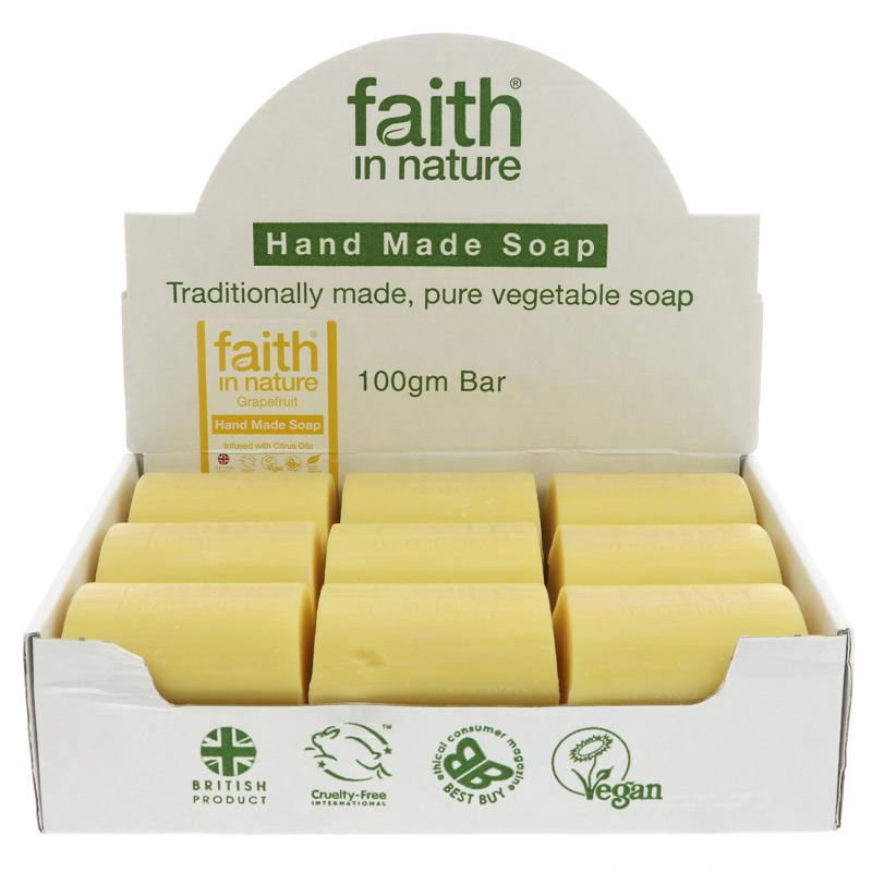 Grapefruit Bar Soap - Faith in Nature