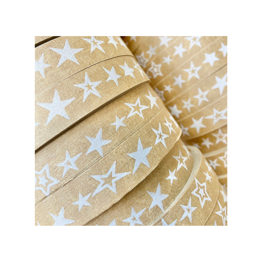 Paper Sticky Tape - Star Print