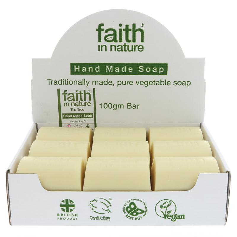 Tea Tree Bar Soap - Faith in Nature