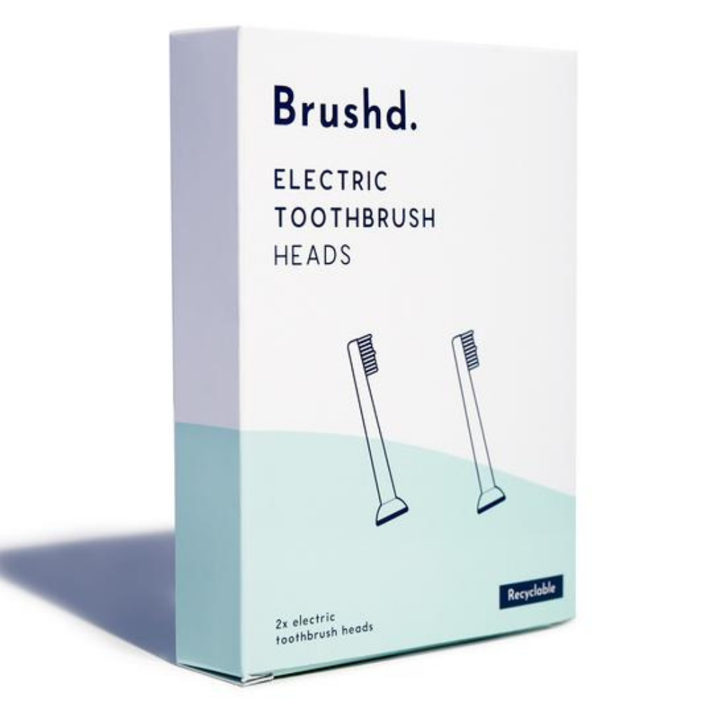 Brushd Recyclable Electric Toothbrush Head - Philips Sonicare Compatible