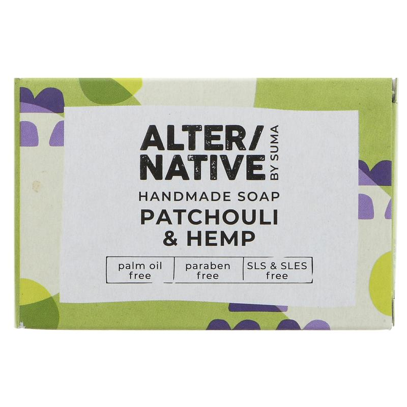 Patchouli & Hemp Bar Soap