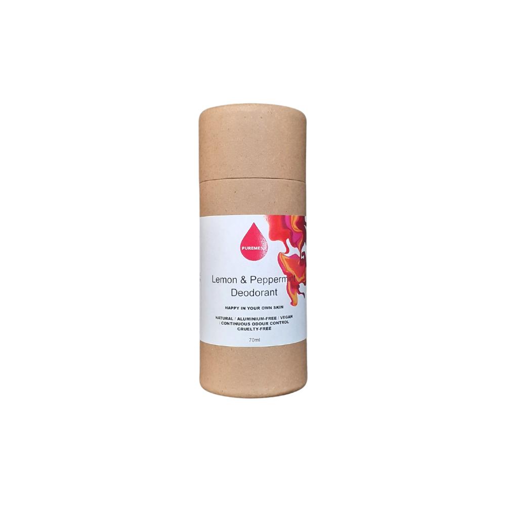 Lemon & Peppermint Vegan Stick Deodorant