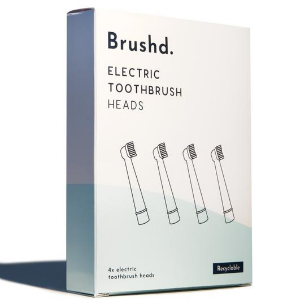 Brushd Recyclable Electric Toothbrush Heads - Oral B Compatible