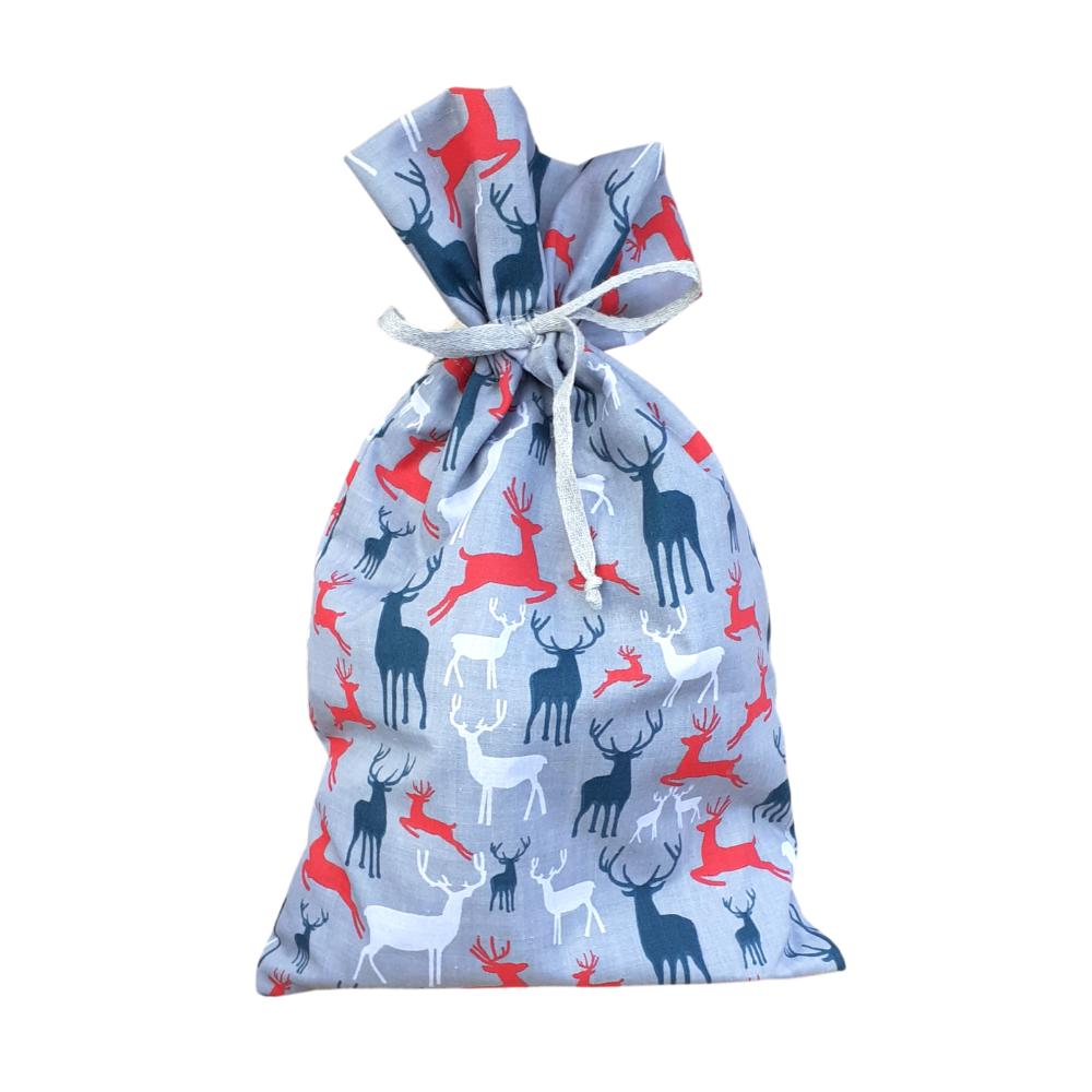 Fabric Gift Bag - Fancy Tie