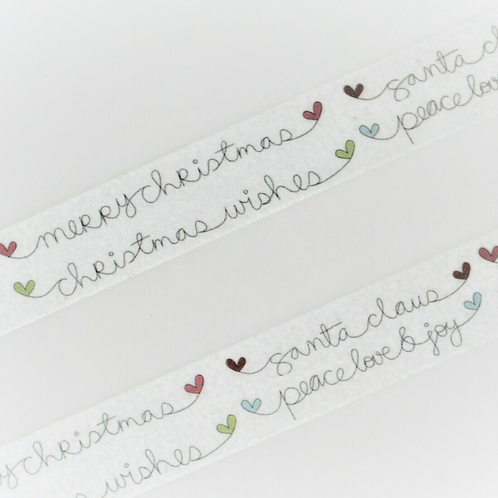 Christmas Wishes Washi Tape