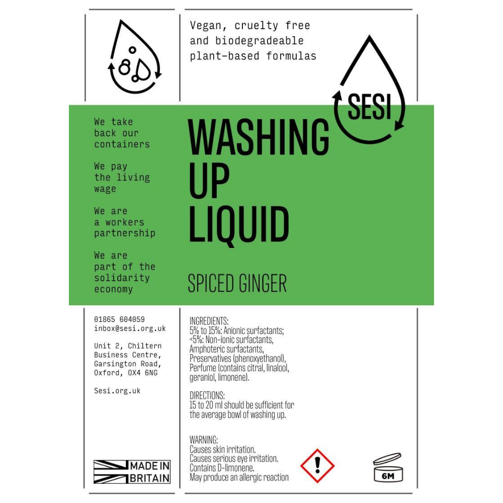 Donate Washing Up Liquid - 1L