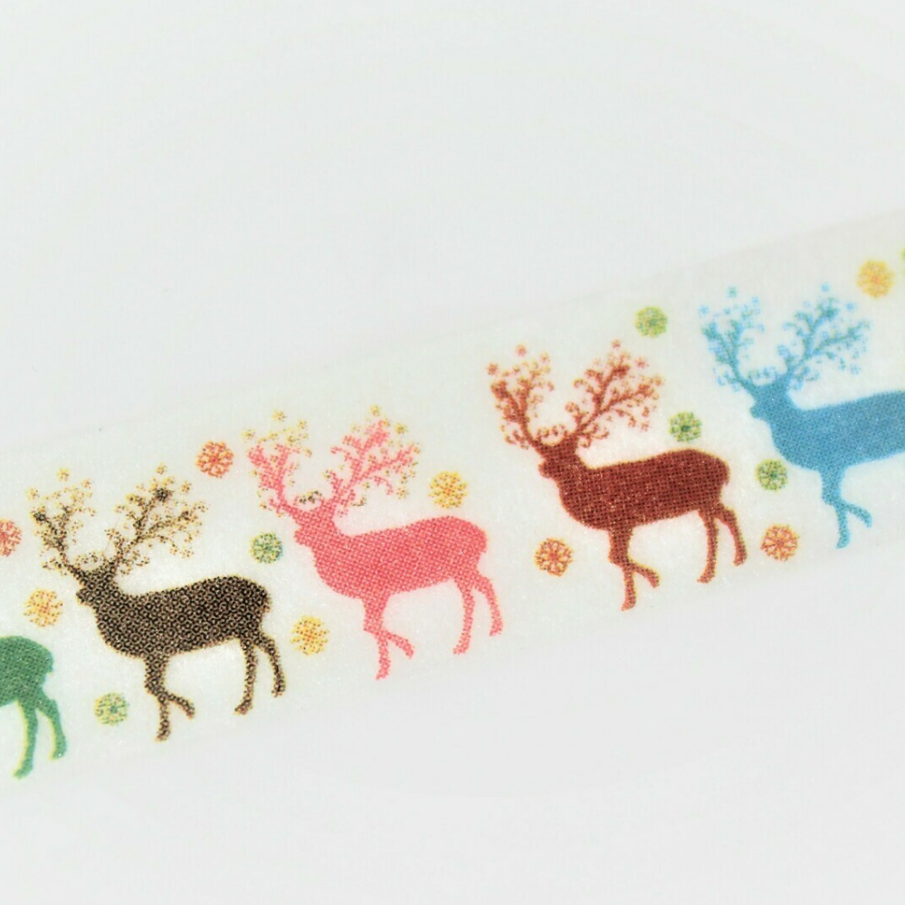Standing Stags Washi Tape