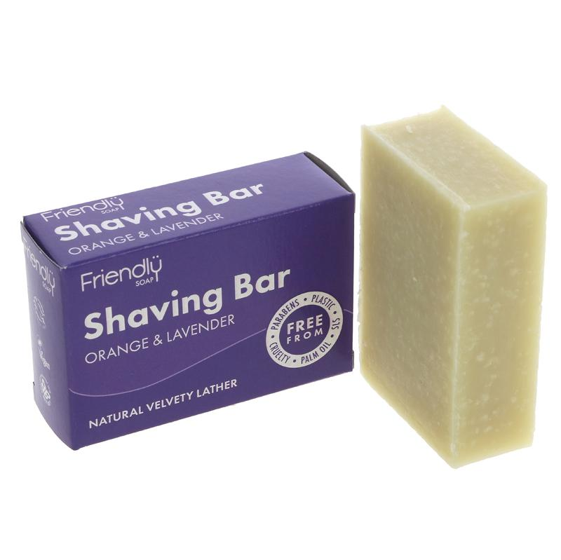 Shaving Soap - Orange & Lavender