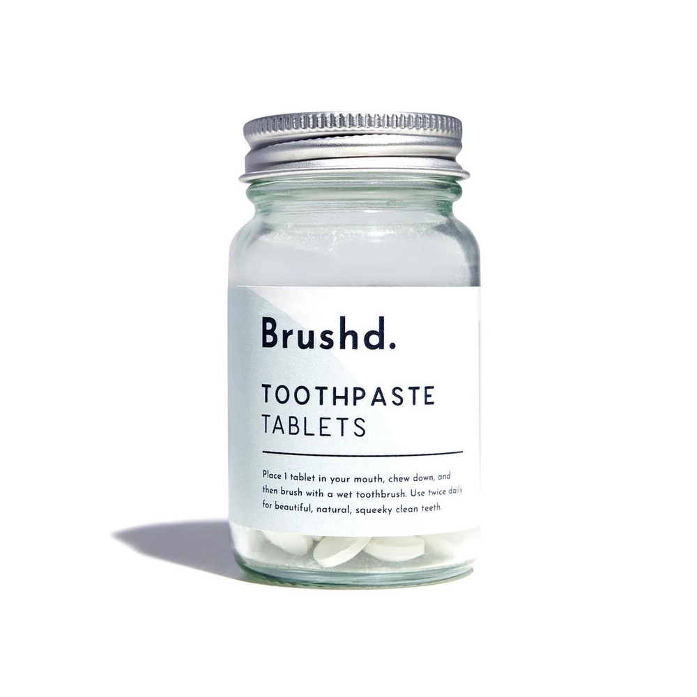 Brushd Fluoride-Free Toothpaste Tablets