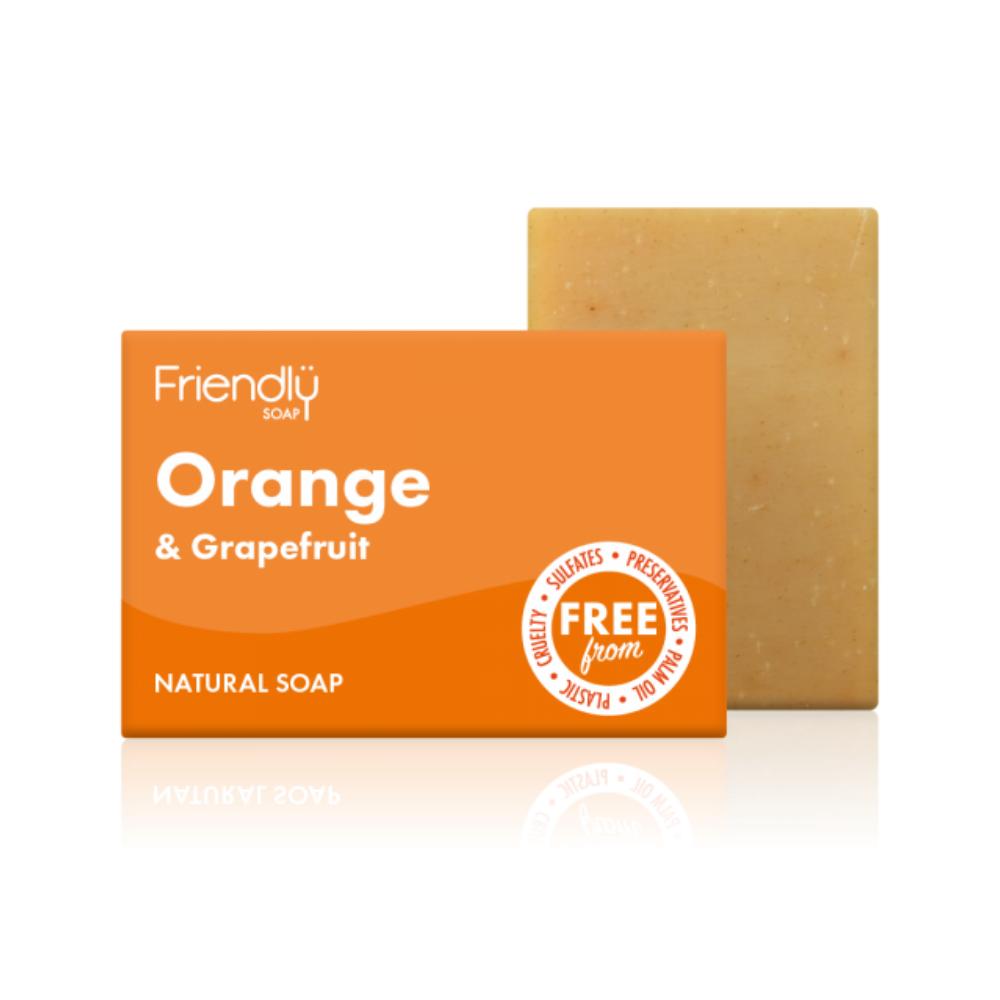Orange & Grapefruit Bar Soap