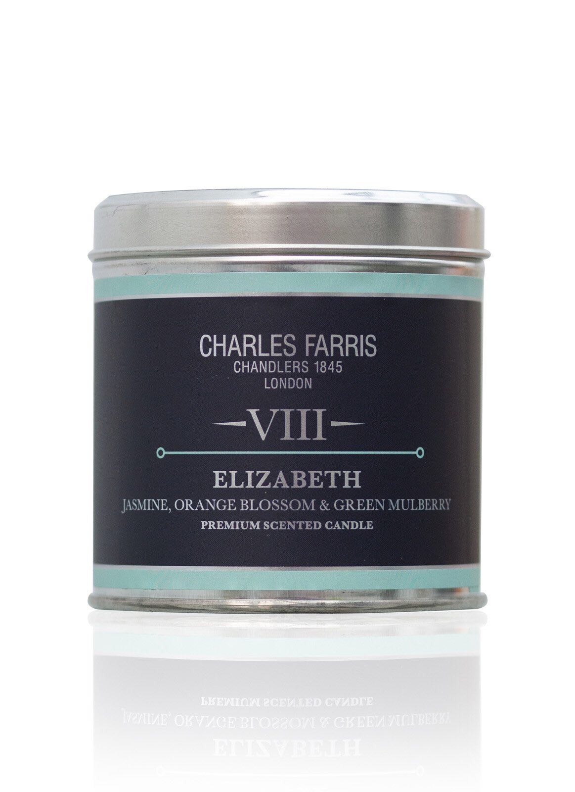 Charles Farris Elizabeth fragranced candle 300g 40 hours burn time
