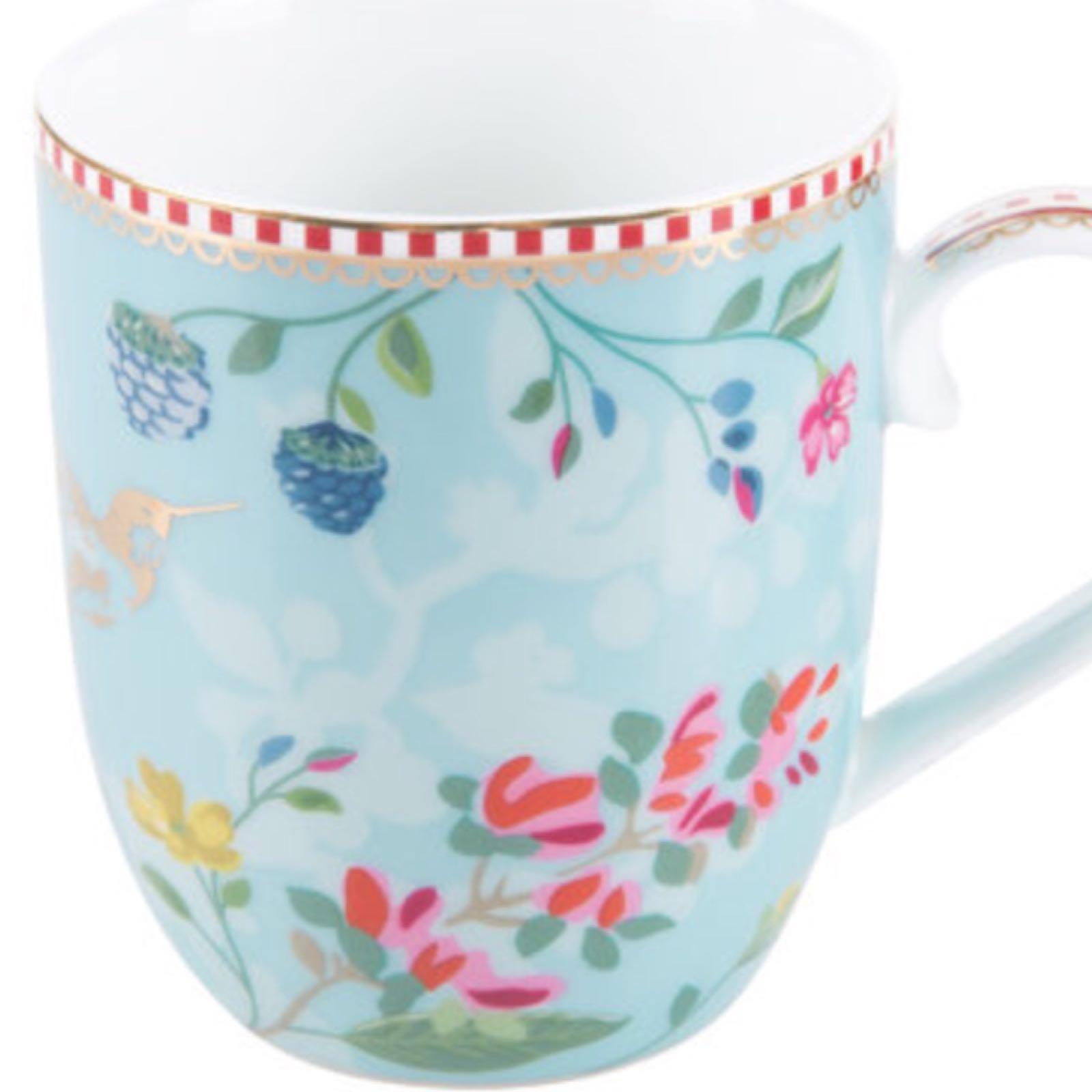 Pip studio hummingbird small mug blue