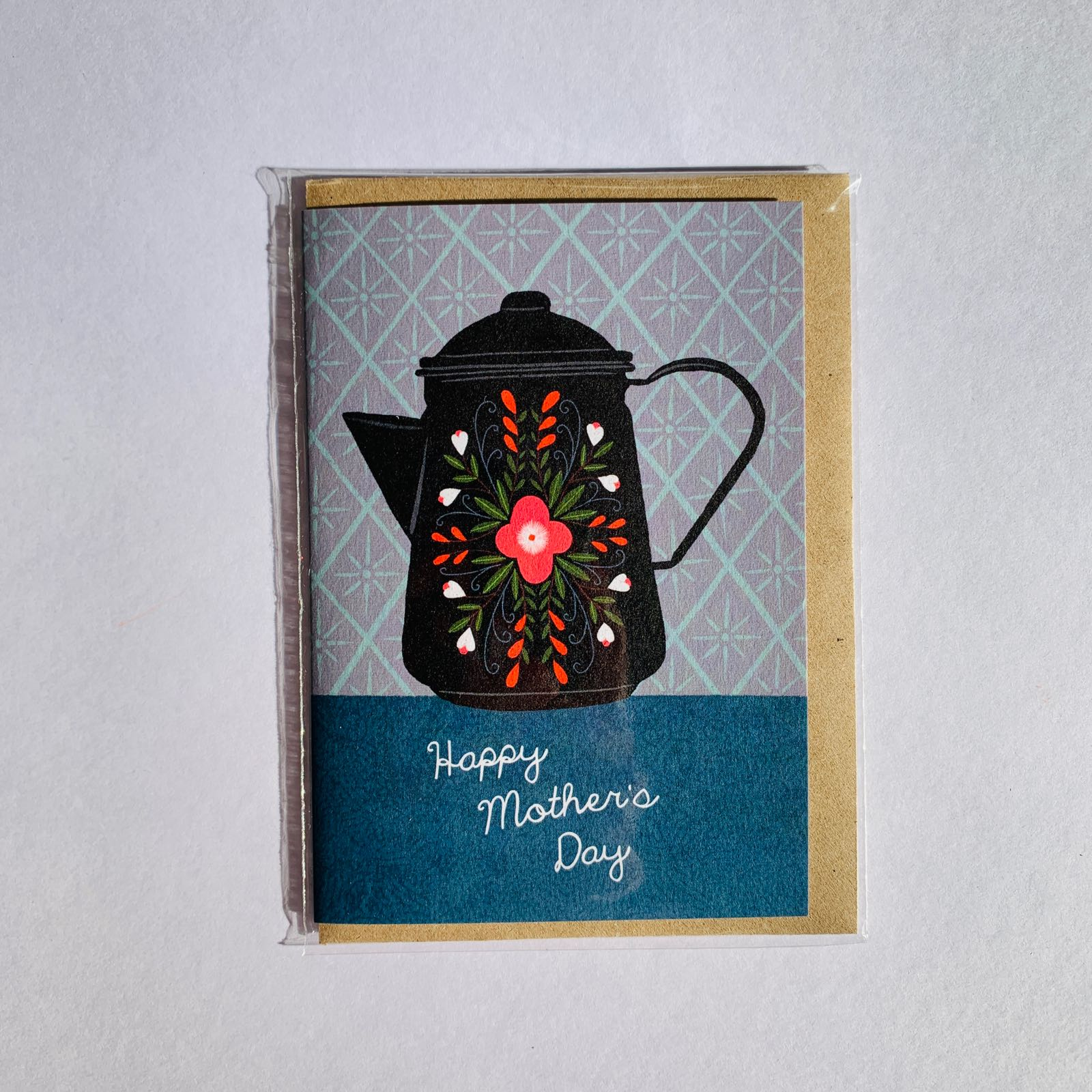 MaggieMagoo Designs - 'Coffee Pot' Mother's Day Card
