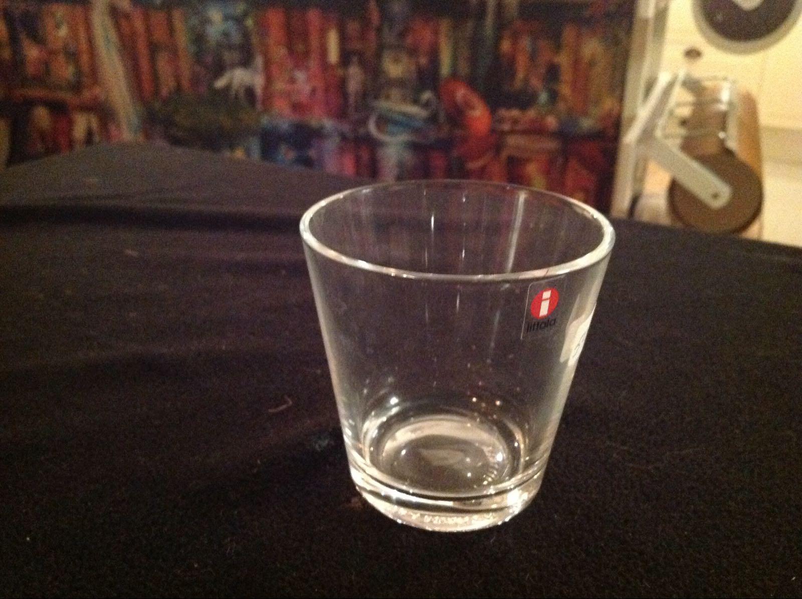 Lykta glas ittala (second hand, vintage, retro)