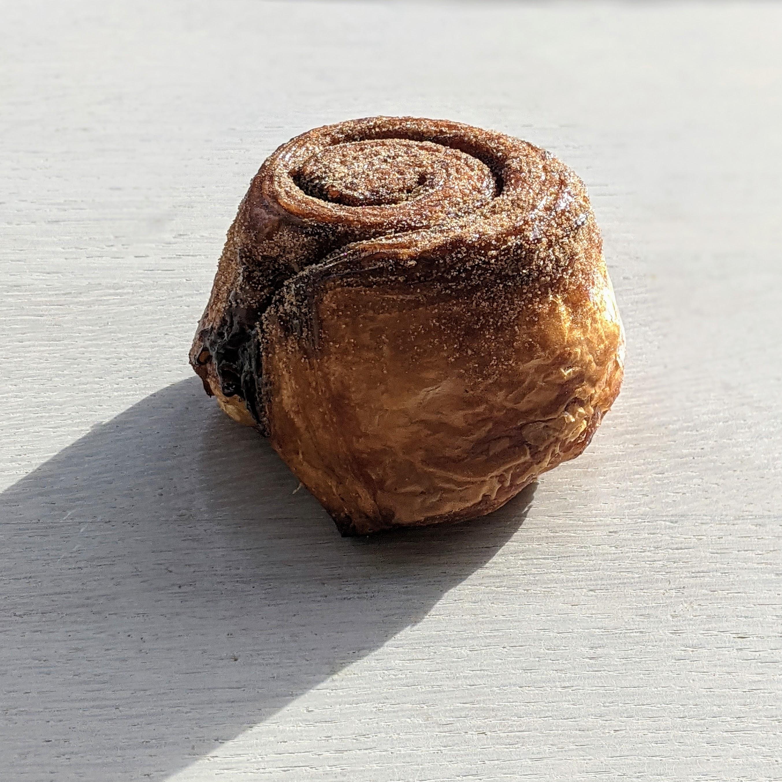 (SAT) Vegan Cinnamon Bun