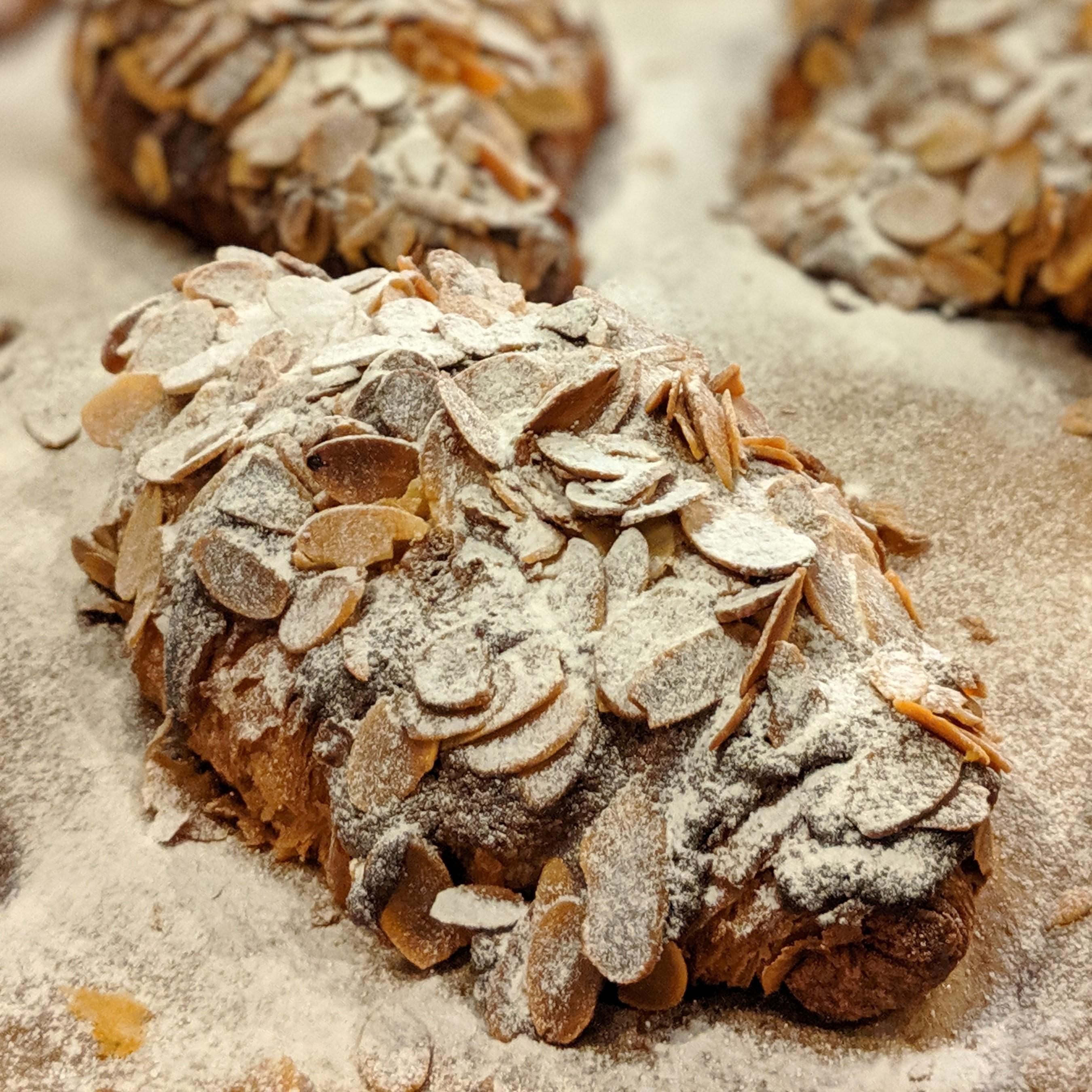 (SAT) Twice Baked Almond Croissant