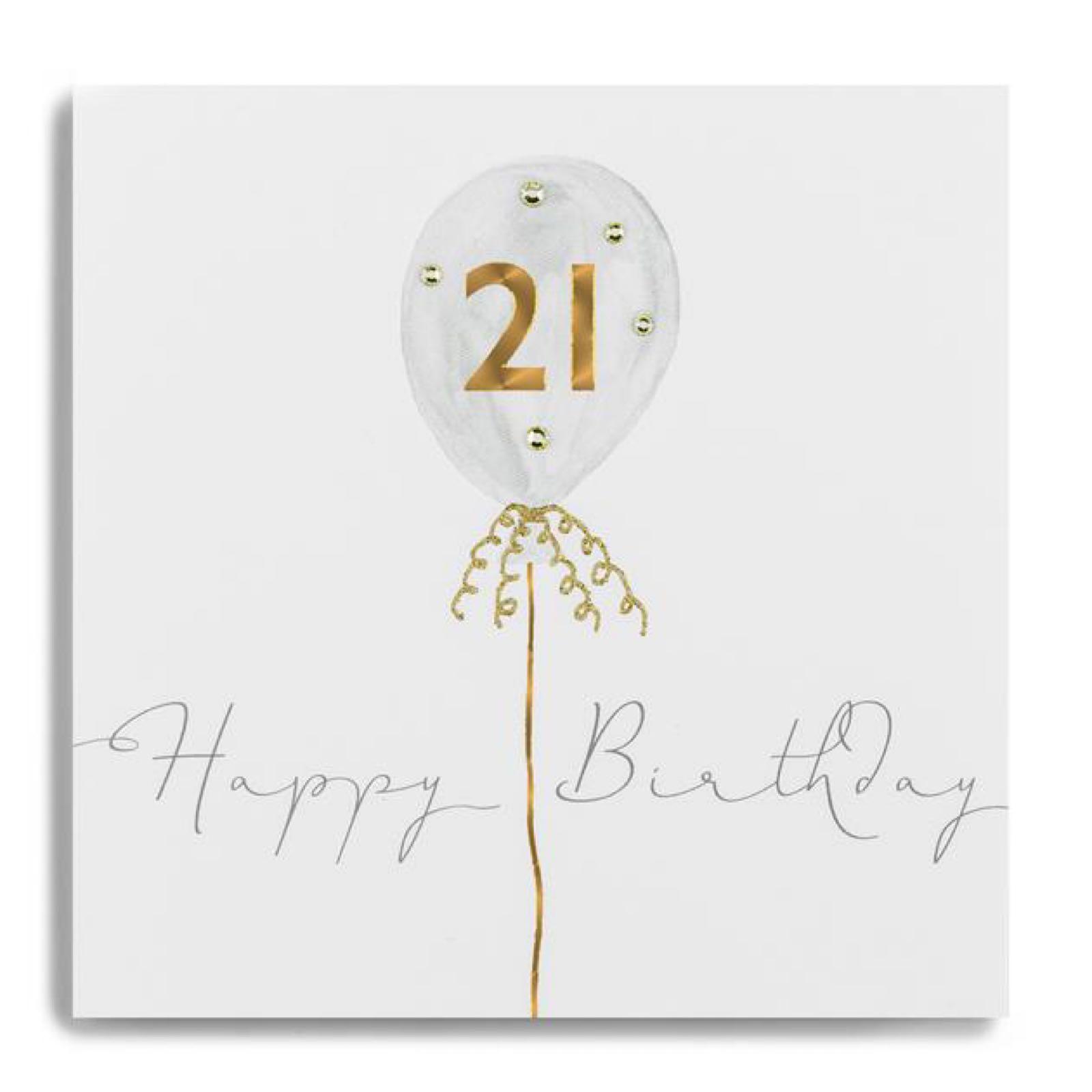 Janie wilson 21 Card
