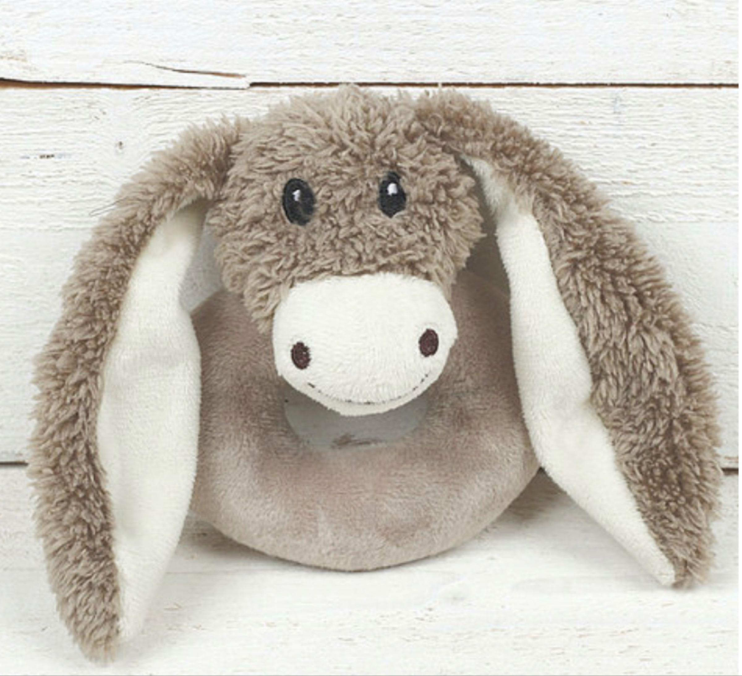 Jomanda Donkey Baby Rattle 10cm