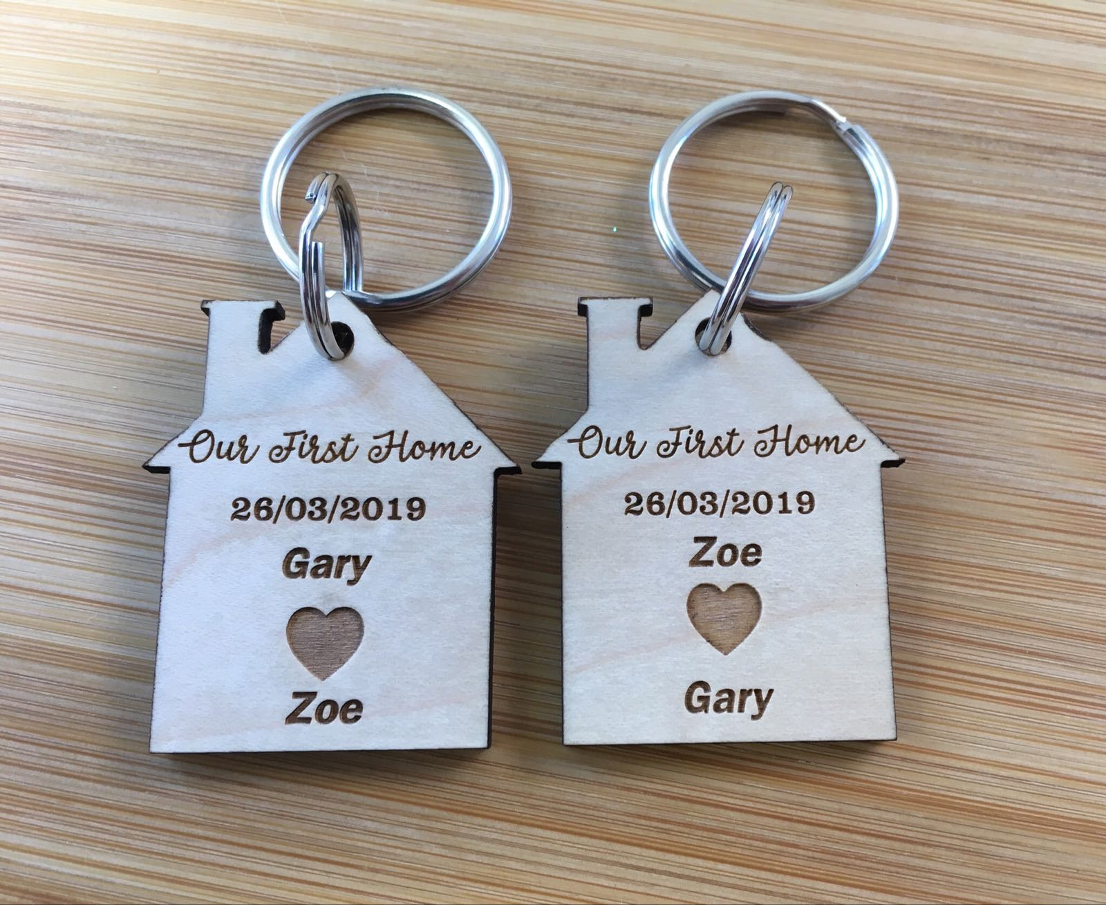 New Home keyring (price per keyring)