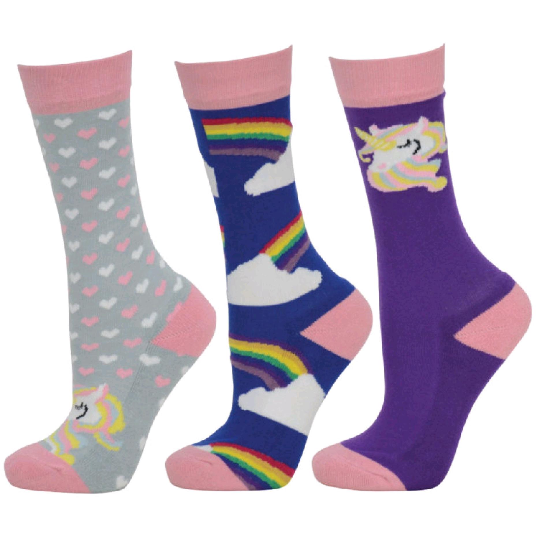 HY Child Socks (Pack Of 3)