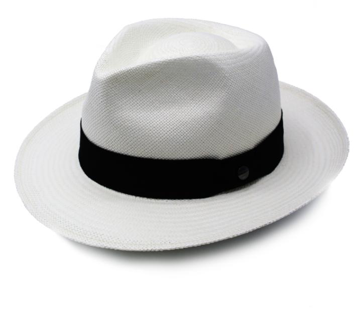 Vintimilla Panama Sol White Black
