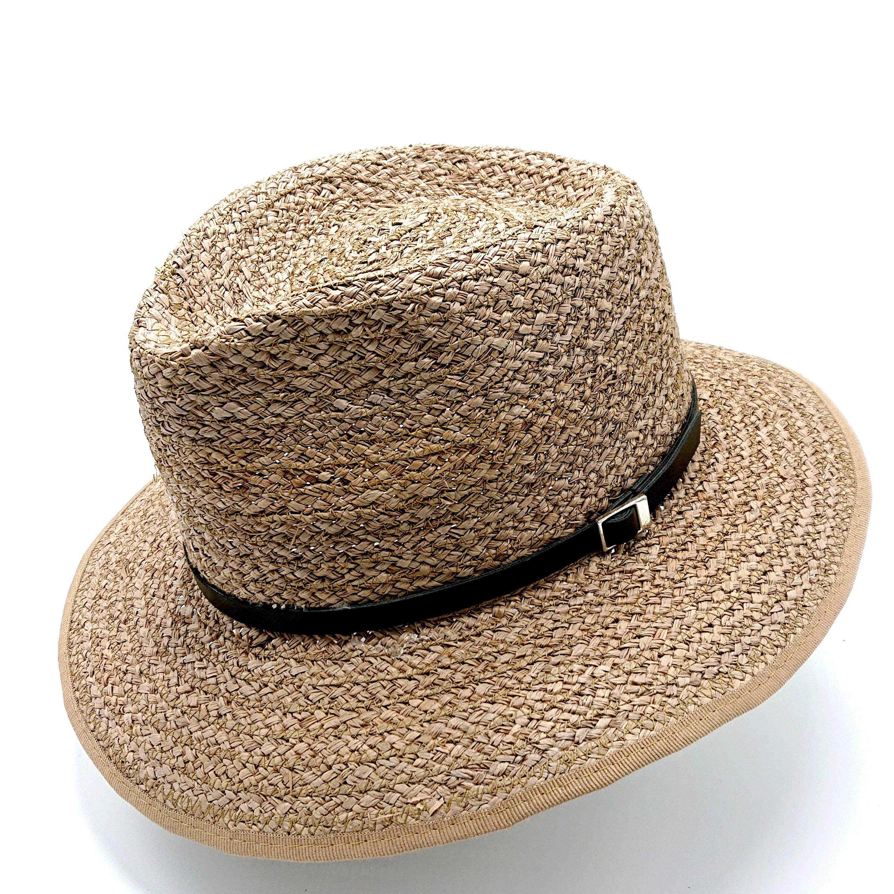 Mc Burn Fedora Straw Brown