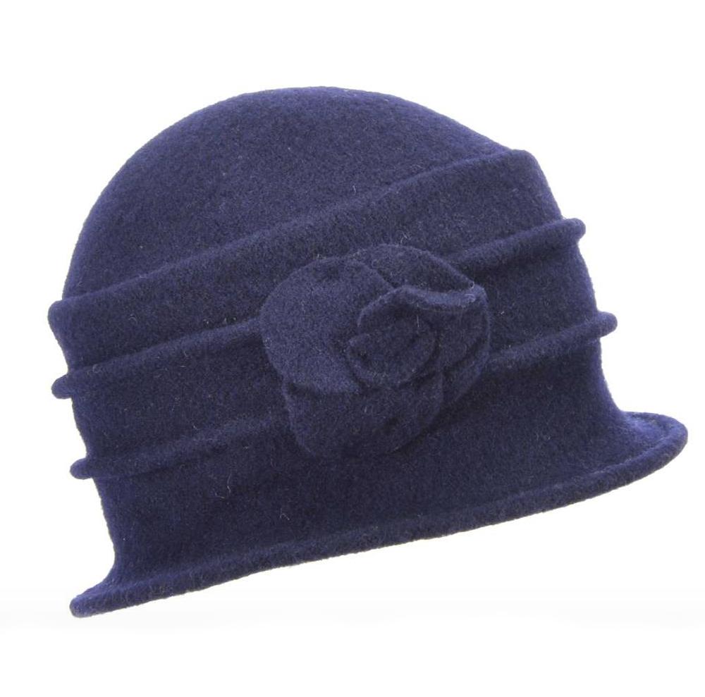 Seeberger Boiled Wool Cloche - Flera färgval
