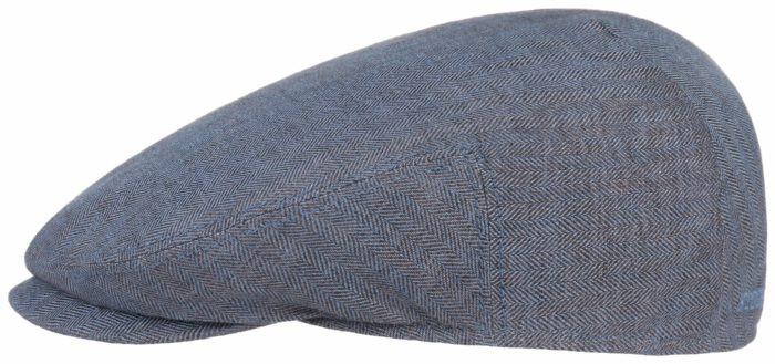 Stetson Kent Linen Herringbone Blue