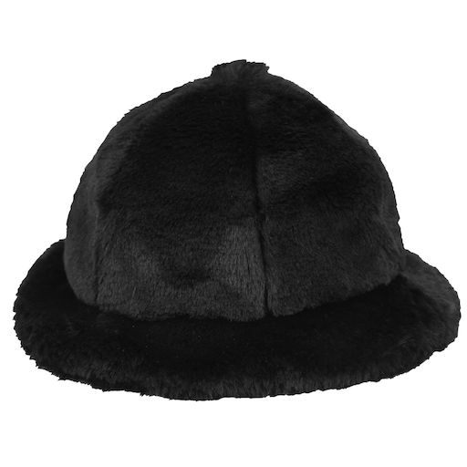 Kangol Faux Fur Casual Dark Navy