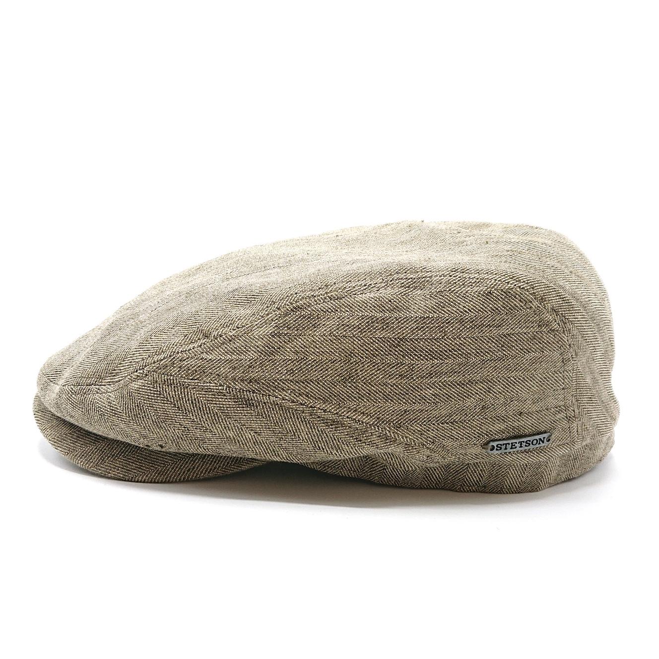 Stetson Driver Cap Cotton/Linen Olive
