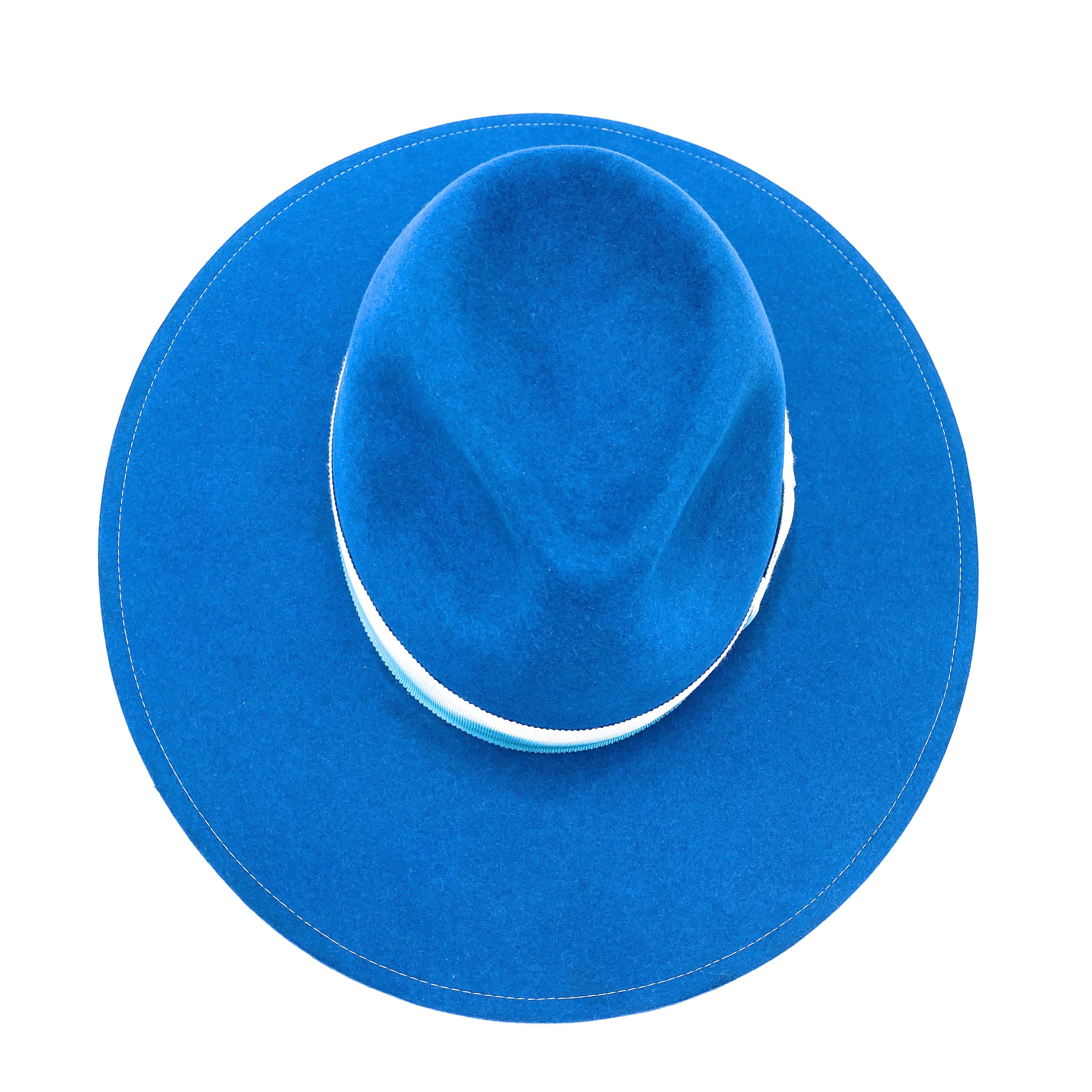 Per Brink Fedora Turquoise