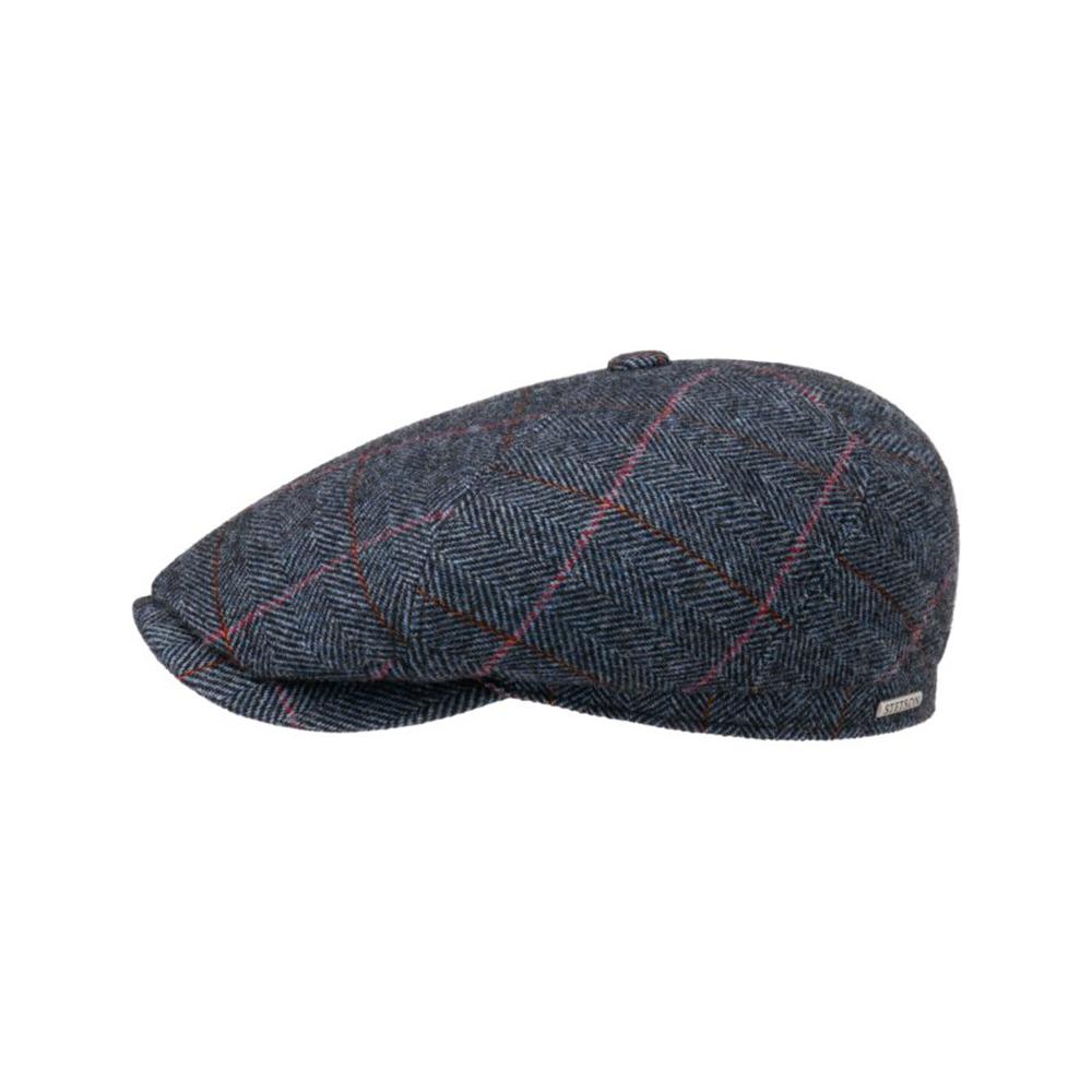 Stetson 6-Panel Cap Wool Stripe