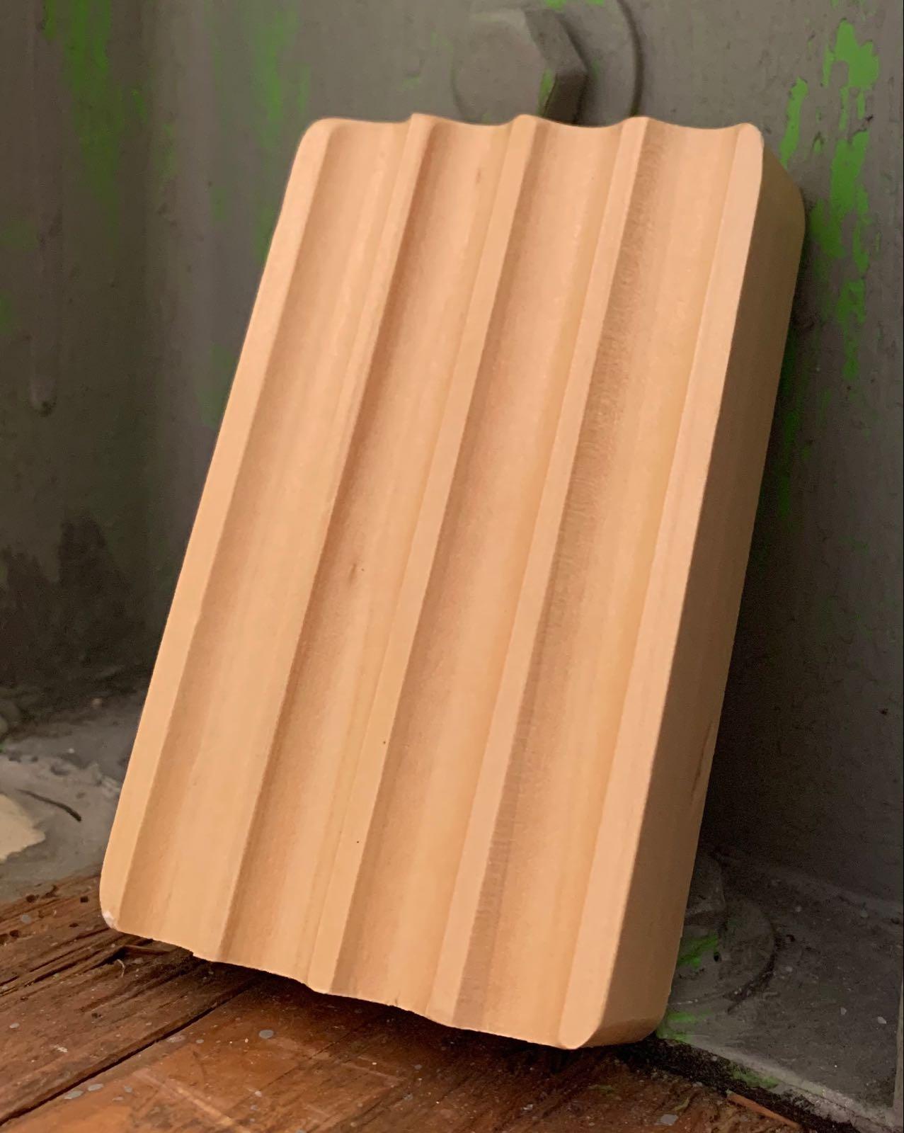 Ablage für Seife, Hemu-Holz